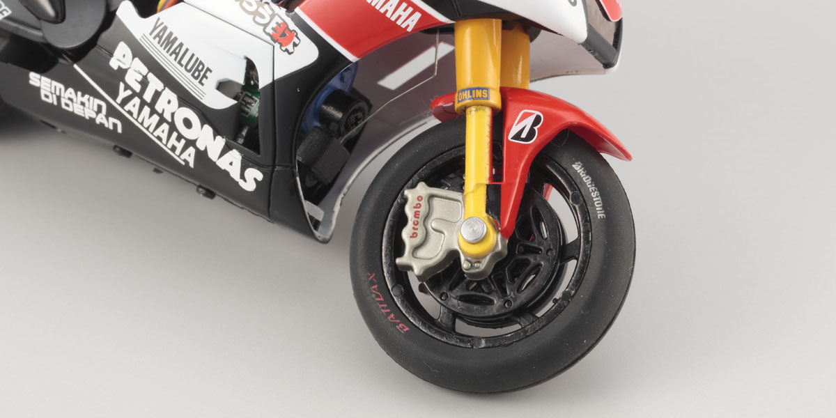 Model 1:18 Yamaha Brembo