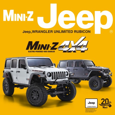 Mini-Z 4x4 Jeep Wrangler