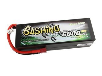 GENS ACE BATTERY LIPO 3S 11.1V 6000 50C (DEANS) 139X46X40MM 395G