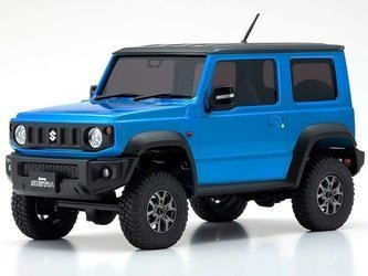 MINI-Z 4x4 Series Ready Set Suzuki Jimny Brisk Blue Metallic 32523MB
