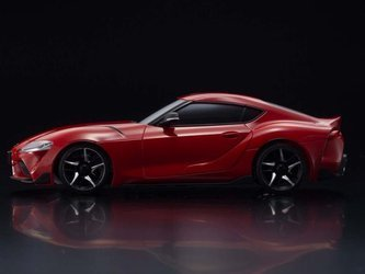 MINI-Z AWD TOYOTA GR SUPRA Prominence Red 32619R