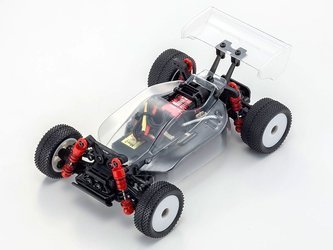 MINI-Z Buggy INFERNO MP9 TKI MB-010VE 2.0 FHSS2.4GHz System Clear Body Chassis Set 32292