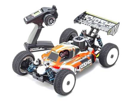 1/8 Picco P3TT Engine Powered 4WD Racing Buggy Readyset INFERNO MP9 TKI4 V2 33021P3TT
